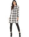 Elle Plaid Check Shirt Tunic