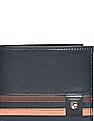 U.S. Polo Assn. Striped Leather Wallet