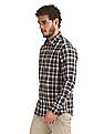 Izod Slim Fit Checked Shirt