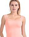 Aeropostale Lace Insert Knit Camisole