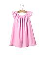 GAP Baby Pink Garden Border Flutter Dress