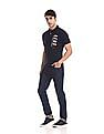 Aeropostale Short Sleeve Appliqued Polo Shirt