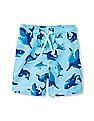 The Children's Place Toddler Boy Shark Print Swim Trunks