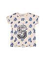 Cherokee Girls Numeric Applique Knit Top