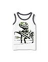 The Children's Place Toddler Boy White Place Sport Sleeveless Graphic Ringer Tank Top